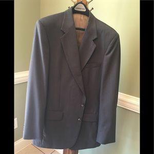 2pc men's suit, brown, XTall